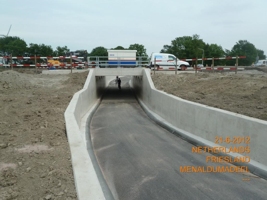 Fietstunnel Noordwesttangent klaar voor gebruik