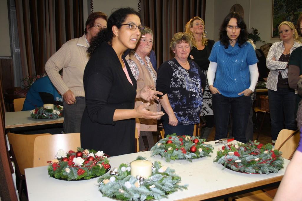 Floralia kerstbloemschikken