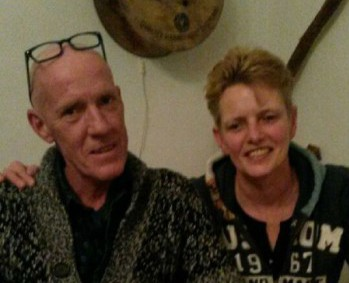 Nieuwe bewoners Binnenbuorren 3; Griet Bosch en Bert Kok.