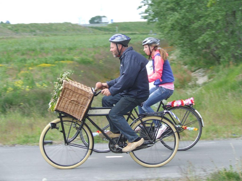 Impressie fietselfstedentocht