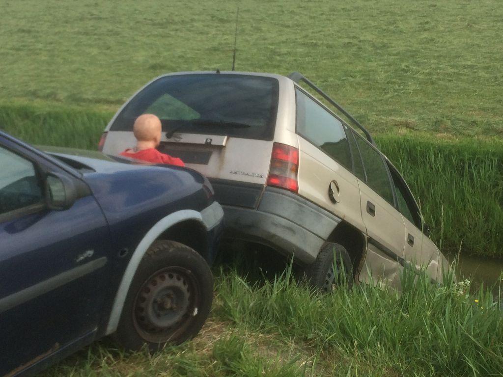 Ravage op oude autoweg