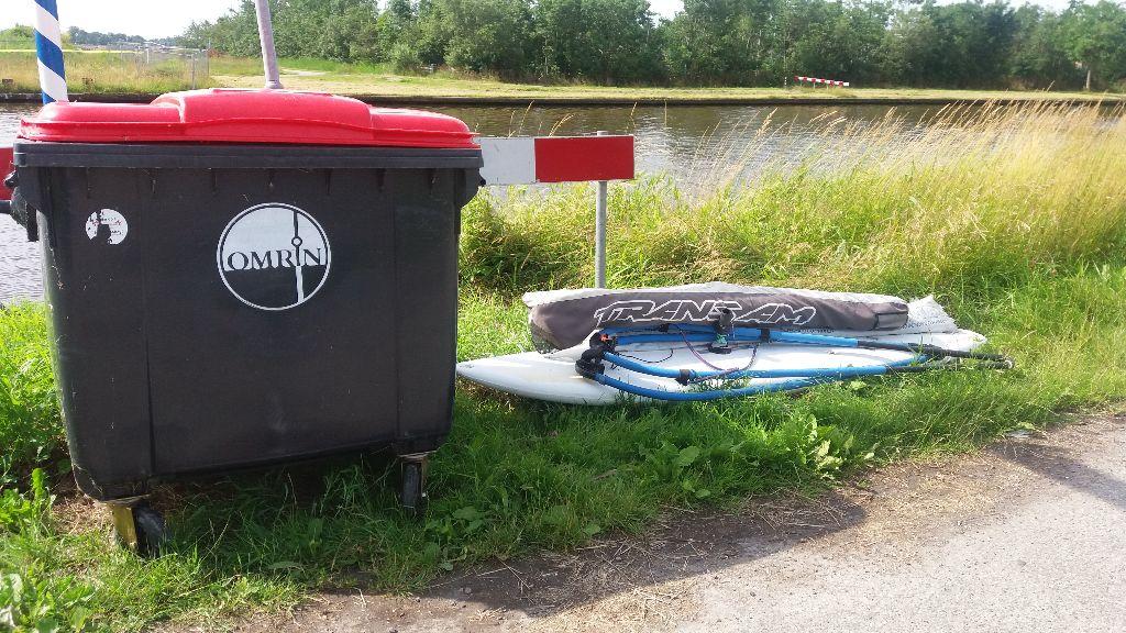 Wie mist een surfplank?
