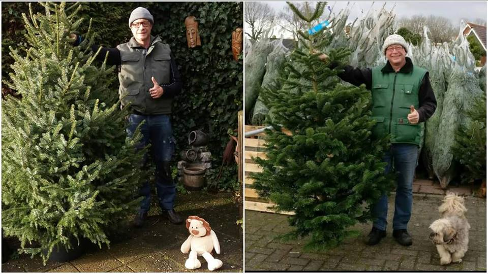 Winnaar kerstboomselfie bij Tuincentrum