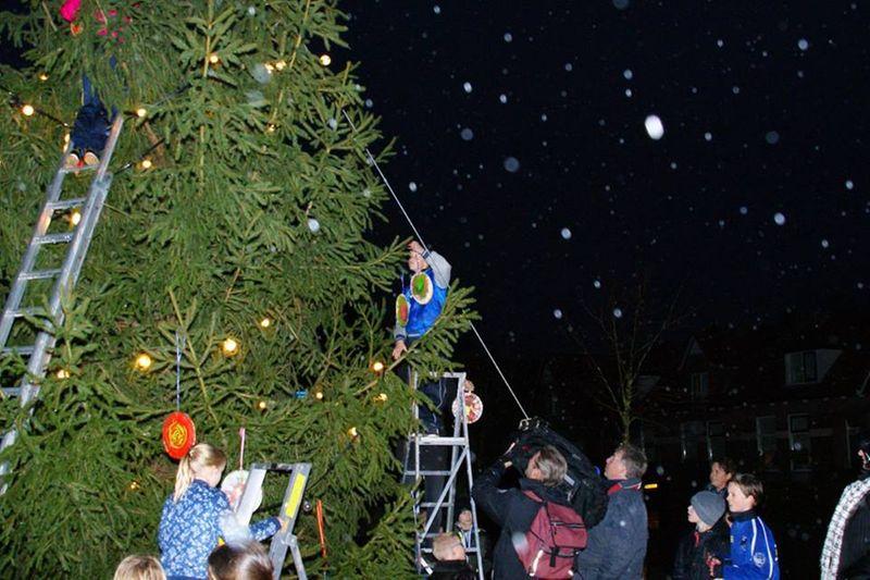 Traditionele kerstboom krijgt andere plek