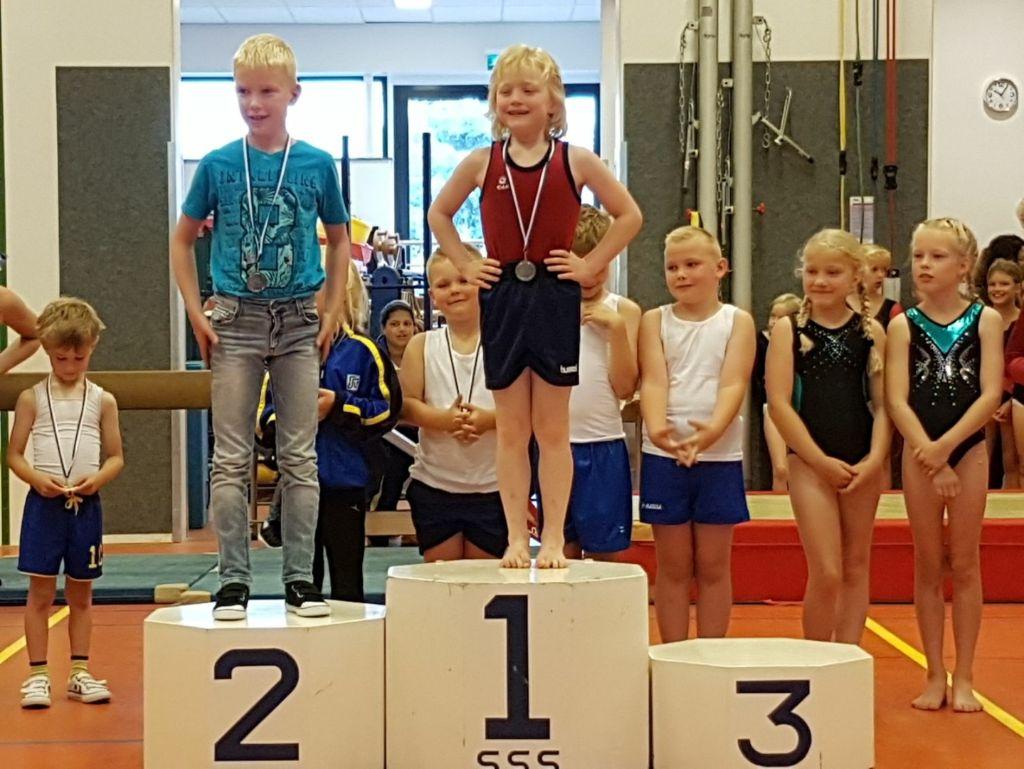 Gymnastiekvereniging SSS grossiert in prijzen bij dorpencompetitie (update)
