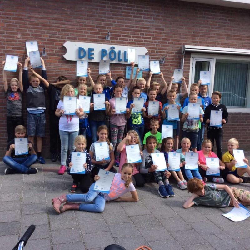 Uitreiking Anglia diploma's De Pôlle