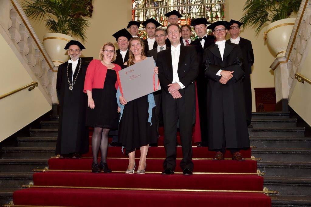 Oud-Marsumer Wardit Tigchelaar promoveert