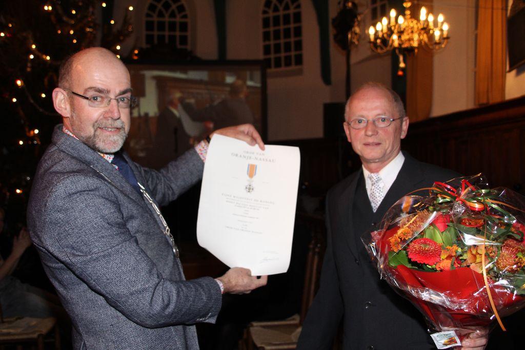 Geert Verf onderscheiden tijdens de âldjiersoertinking