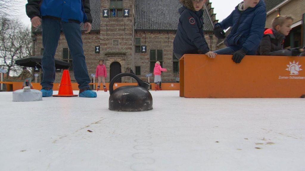 Marsumer Curling in Hea en bij Jinek