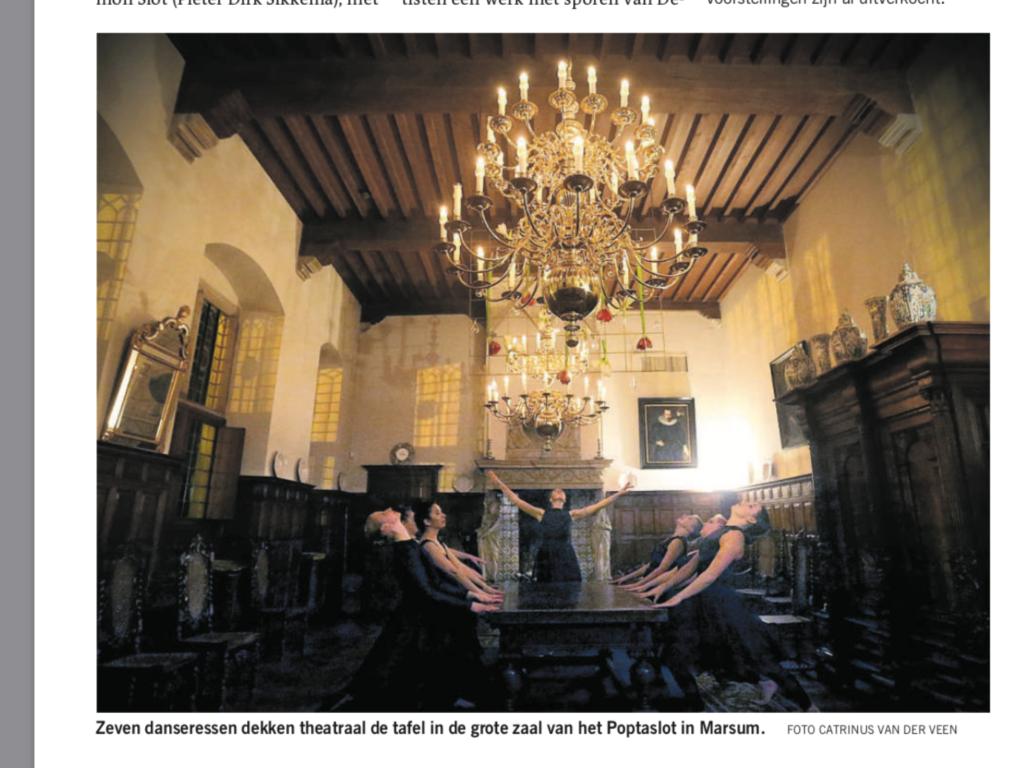 Lovende recensie in de Leeuwarder Courant – foto update
