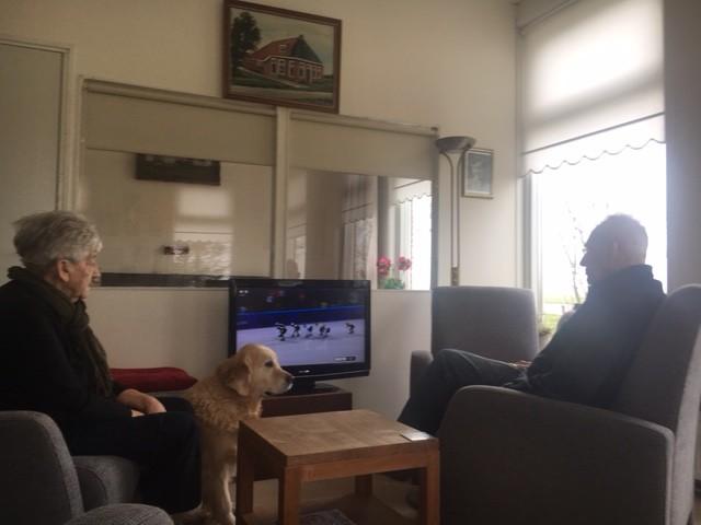 Johannes en Annie Bouma in de ban van de Olympische winterspelen in Pyeongchang