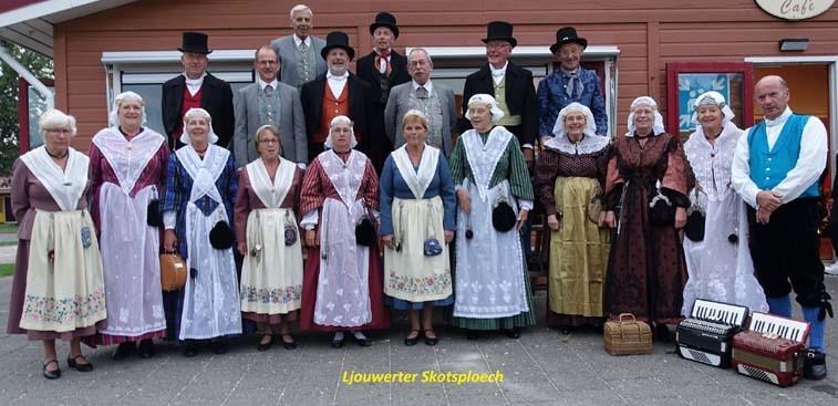 Jaarlijkse districtsdag Ljouwerter Skotsploech in Marsum