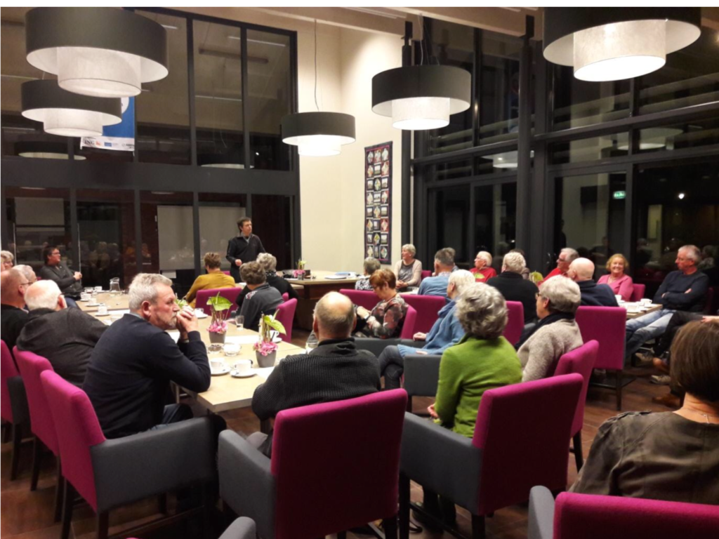 Jaarvergadering Uitvaartvereniging Marssum