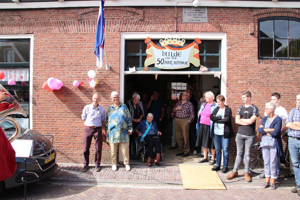 Jan en Klaaske Venema 50 jaar getrouwd
