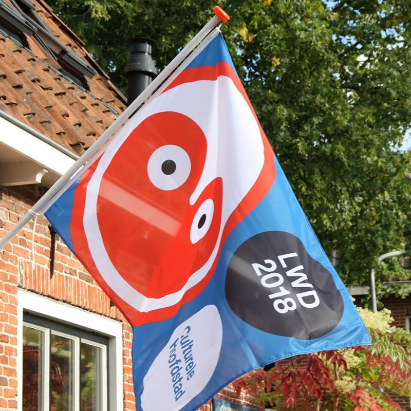Vlag Culturele Hoofdstraat vermist
