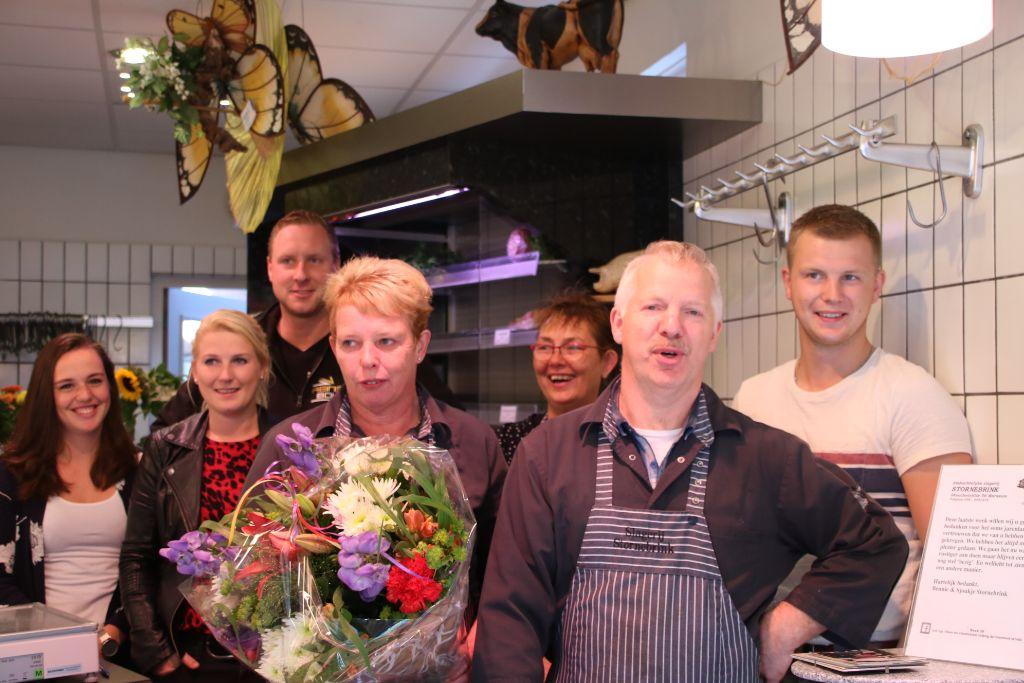 Slagerij Stornebrink sluit de winkel
