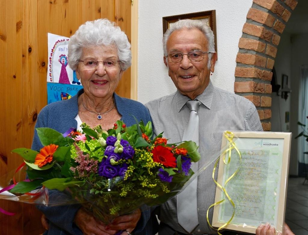 Sijtze en Marianne van Wieren 60 Jaar getrouwd
