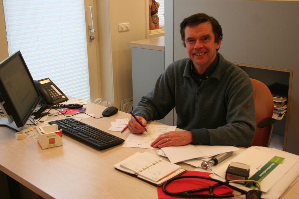 Dennis Dooren neemt na 30 jaar afscheid als huisarts