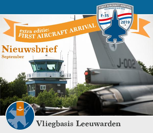Extra editie nieuwsbrief vliegbasis Leeuwarden