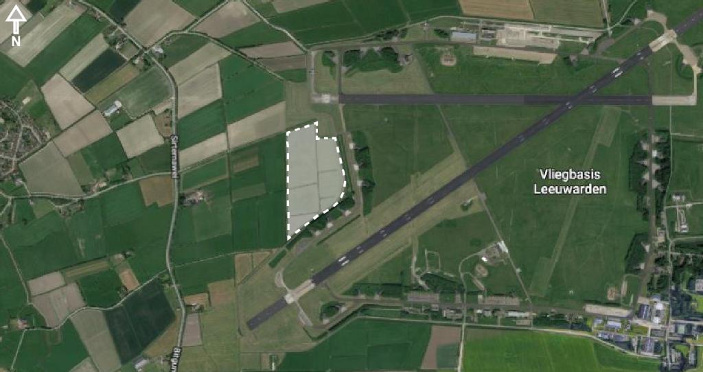 Zonnepark voor dorpen en vliegbasis fase verder in onderzoek