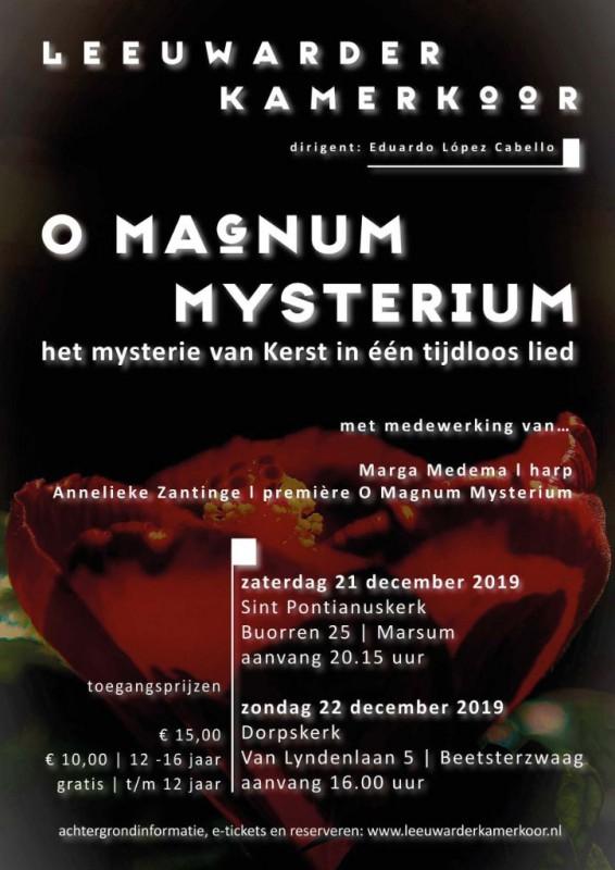 O Magnum Mysterium – foto update