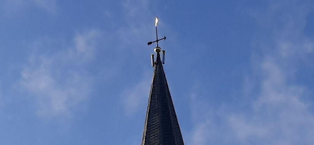 Marsumer kerktoren nieuw aanzicht