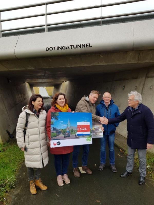 Project Dotingatunnel krijgt prijs van provincie en LF2028