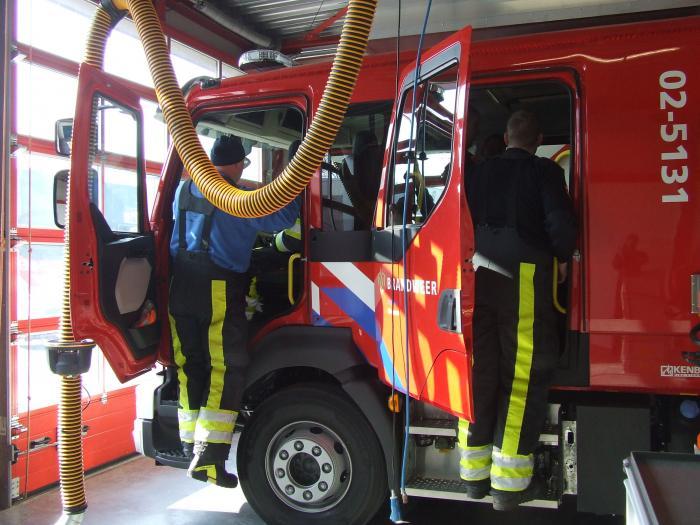 Brandweer rukt uit voor ernstig ongeval