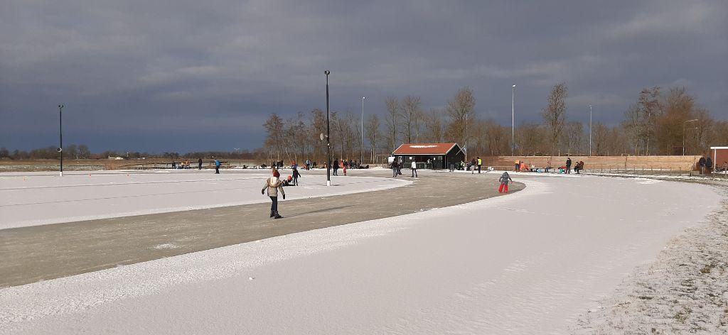 Bijzondere schaatsdag in Marsum