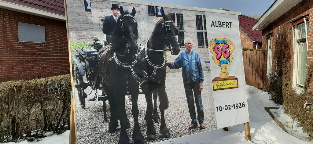 Albert Scheenstra 95 jaar