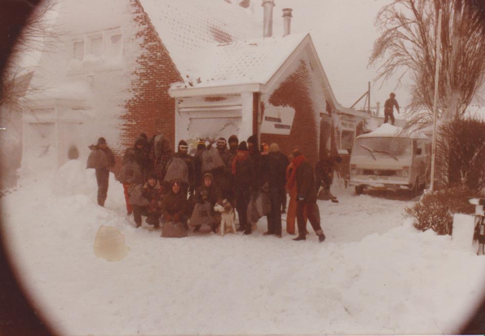 De barre tocht tijdens de sneeuwwinter van 1979