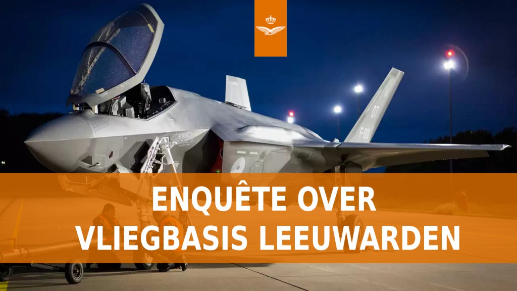 Enquête over vliegbasis Leeuwarden