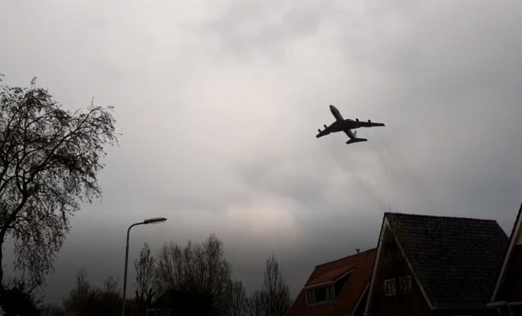 Awacs geluid in Marsum om Limburg te ontlasten