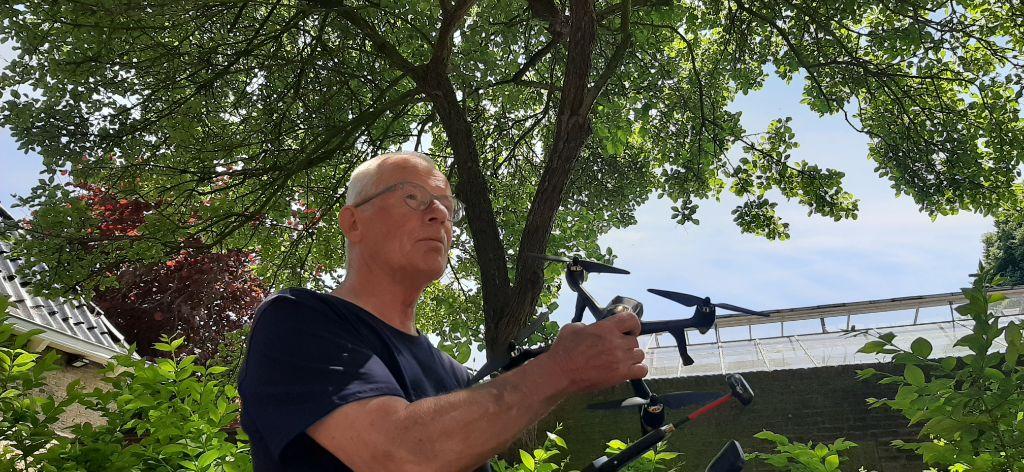 Marsumer Jaap Nijenhuis vindt na jaar zijn drone