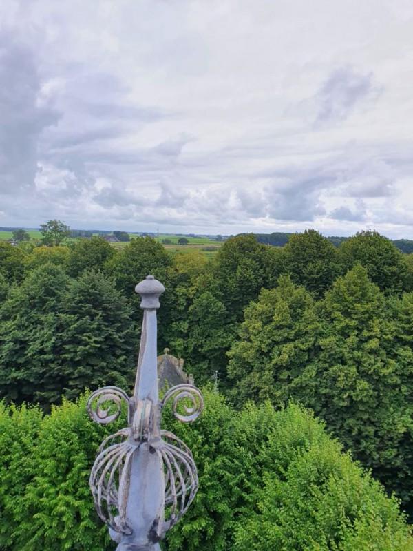 Uitzicht vanuit de toren van het slot