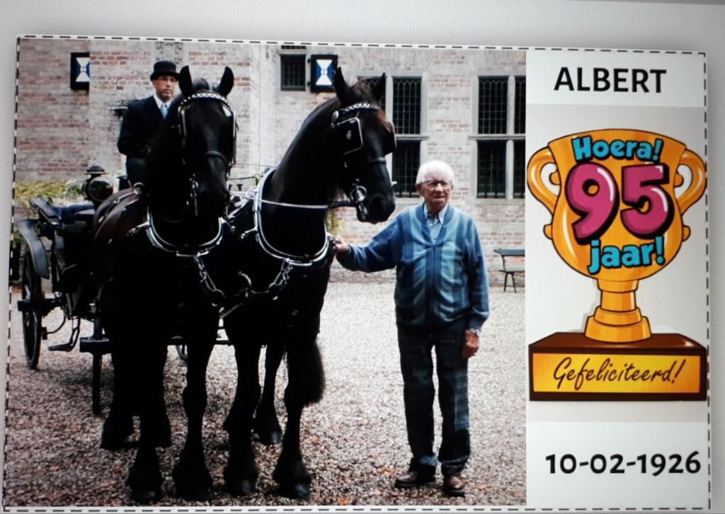 Rijtoer: Albert Scheenstra 95½ jaar