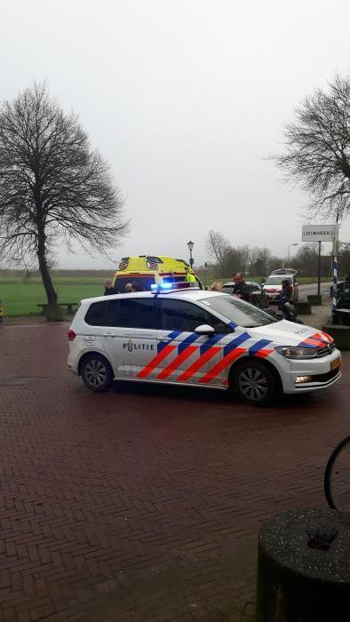 Ongeval met scooter