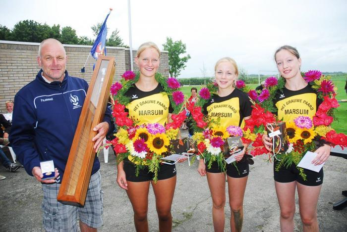 Marsum wint de revanche Ald-Meiers partij voor meisjes van 14-16 jaar
