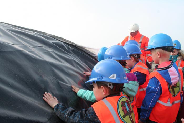 Rondleiding en gastles OBS de Pôlle Marsum zuid